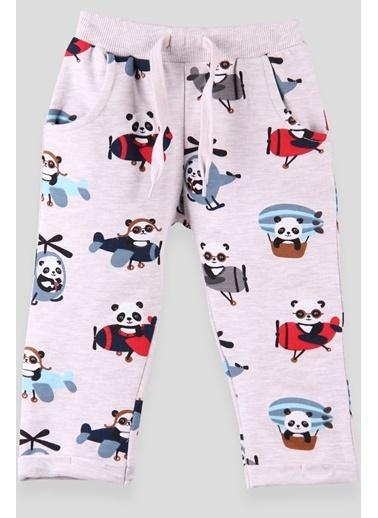 Breeze Erkek Çocuk Eşofman Altı Pandalı Bej (1-4 Yaş) Bej